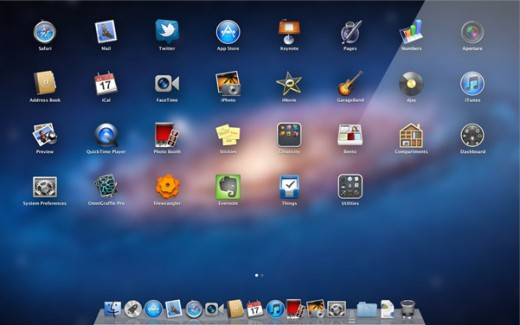 whatsnew launchpad screen 520x325 Whats new in Apple OS X Lion