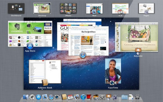 whatsnew missioncontrol screen 520x325 Whats new in Apple OS X Lion