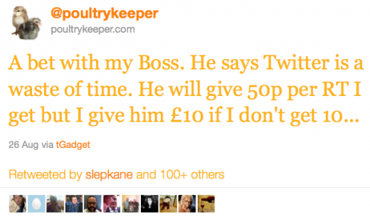001 520x315 Man earns £11,000 through Twitter by betting against his boss