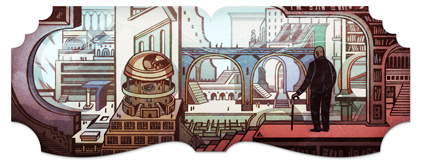01425i31489400 Google celebrates Jorge Luis Borges 112th birthday today