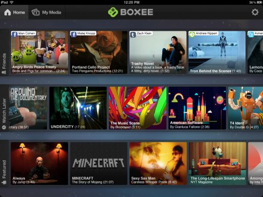 1 520x390 The Boxee iPad app lets you stream media between your TV and PC seamlessly