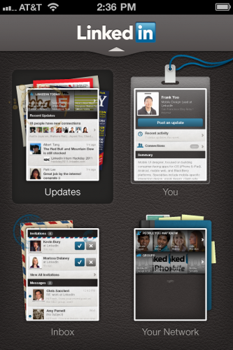 11 333x500 LinkedIn launches slick new iPhone, Android and HTML5 mobile apps
