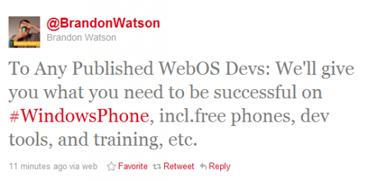 2011 08 19 1739 520x256 Microsoft offers free WP7 devices, tools, training to webOS developers
