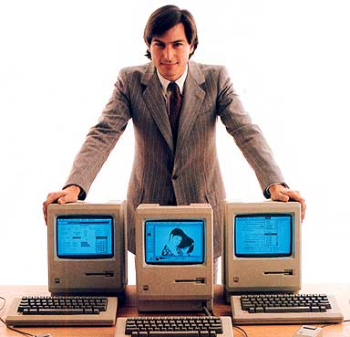 205729 steve jobs 1984 macintosh 1 A front row seat to Steve Jobs career, by Robert Scoble.