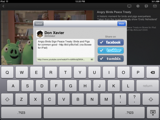3 520x390 The Boxee iPad app lets you stream media between your TV and PC seamlessly