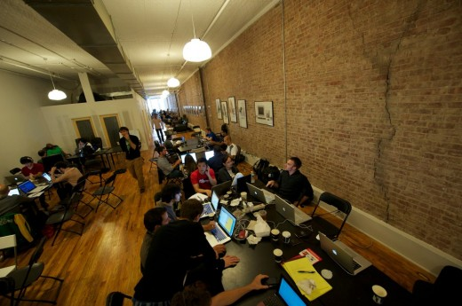 4989830606 aca54b6336 b 520x345 The 5 Coolest Coworking Spaces in New York City