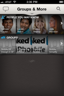 51 220x330 LinkedIn launches slick new iPhone, Android and HTML5 mobile apps