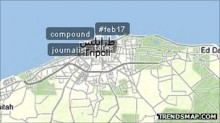 54742288 trendsmap 220x123 After a six month blackout, Internet slowly returns to Libya