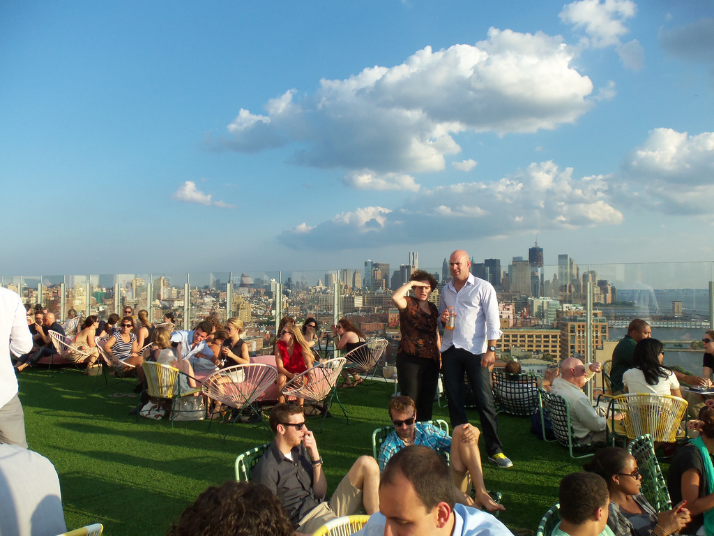 New York City's top 10 beer gardens and rooftops on HopStop