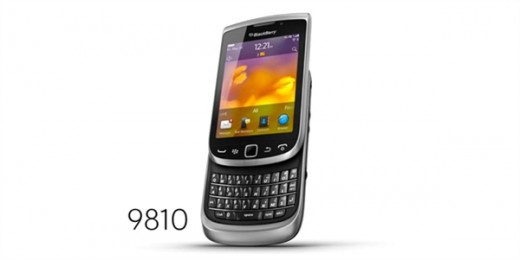 BlackBerry Torch 9810 520x260 RIM unveils five new BlackBerry 7 handsets, launching with 225 partners worldwide