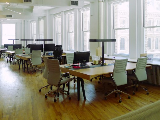 GA southwing1 520x390 The 5 Coolest Coworking Spaces in New York City