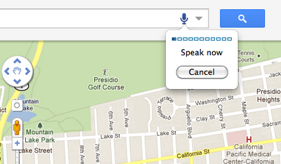 GMap1 You can now search Google Maps with your voice