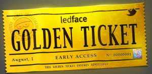 Golden ticket 300x147 Ledface uses the Collective Brain to help solve your day to day problems: Try it now