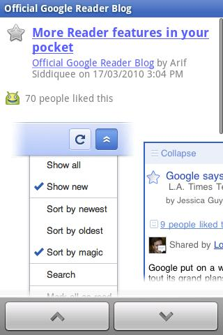 GoogleReader 13 Android apps for mobile journalists