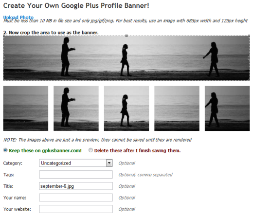 Gplusbanner How to spice up your Google+ profile with photos