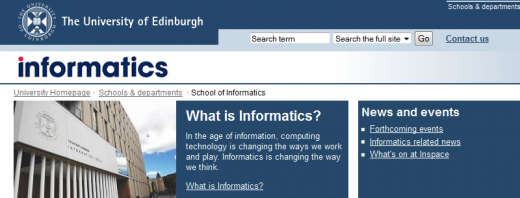 Informatics 520x198 Startup Scotland: The Next Web delves into digital life north of the border
