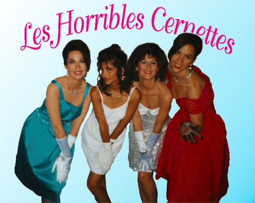 Les Horribles Cernettes in 1992 520x413 20 years ago today, the World Wide Web opened to the public