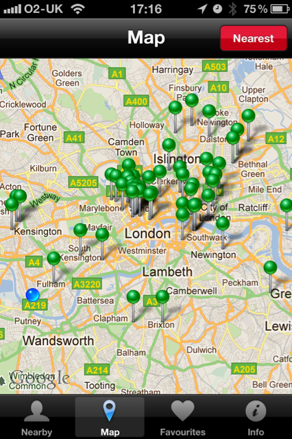 Map Hungry in London? This iPhone app will help you track down the best sandwiches.