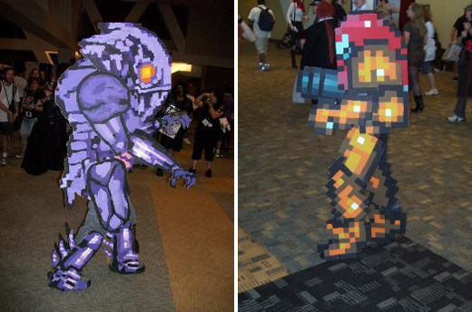Metroid Probably the most realistic gaming costumes youve ever seen