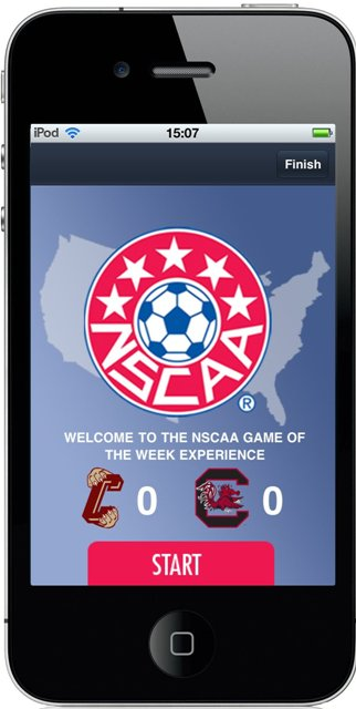 NSCAA final1 Screenreach announces first major US deal, with NSCAA Game of the Week on FOX Soccer