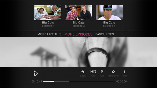 Navigate 520x292 The BBC launches a new TV friendly version of iPlayer