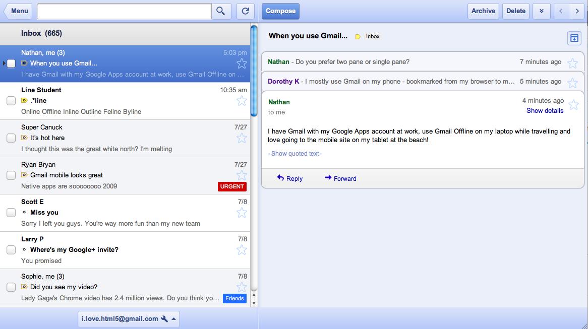 Offline Gmail, Docs and Calendar come to Google Chrome - TNW