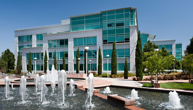 Take a look at Googles beautiful new Silicon Valley campus
