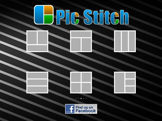 PS1 Create photo collages on your iPad/iPhone with Pic Stitch