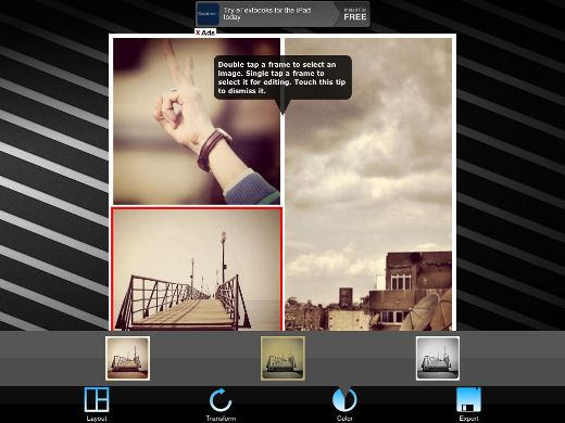 PS2 Create photo collages on your iPad/iPhone with Pic Stitch