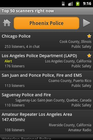 PoliceScanner 13 Android apps for mobile journalists