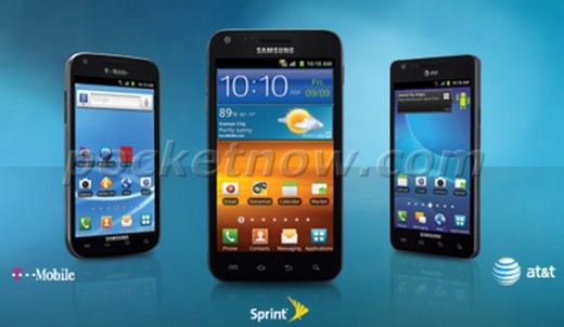 Samsung Galaxy S II US Hero 520x302 Samsung Galaxy S II carrier choices revealed: T Mobile, AT&T and Sprint