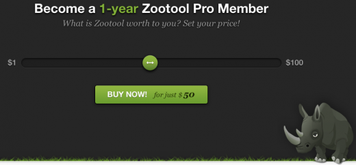 Screen Shot 2011 08 03 at 14.01.20 520x242 Visual bookmarks service Zootool launches Pro accounts   and the price is up to you