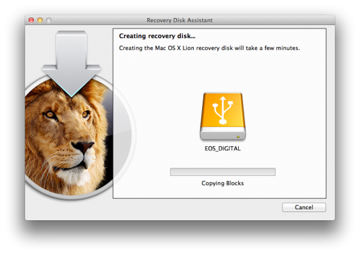 Screen Shot 2011 08 08 at 3.20.40 PM 520x368 Apple releases Lion Recovery Disk Assistant