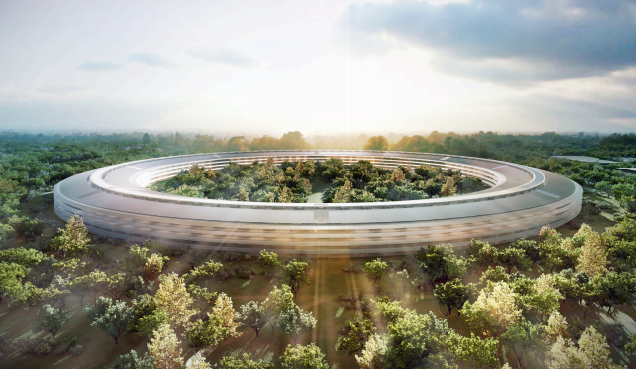 "Apple proposals, renderings for new ""Spaceship"" campus detailed by City of Cupertino"