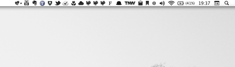 These are my favorite menu bar apps. What are yours?