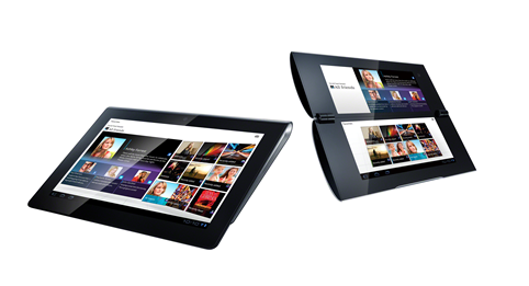Screen Shot 2011 08 31 at 15.47.49 Sony announces new Android powered Tablet S and Tablet P devices