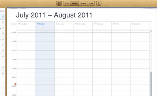 Screen shot 2011 08 01 at 3.46.25 PM 520x318 iCloud.com beta with Mail, Contacts and Calendar web apps, now available to developers