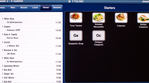 Screen shot 2011 08 22 at 12.22.34 PM 520x291 The first restaurant to rely completely on iPads in New York City