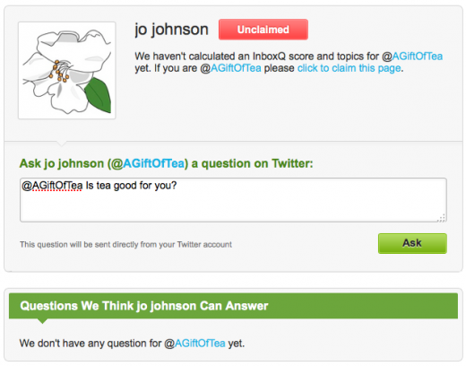 Screen shot 2011 08 26 at 11.19.27 AM 520x408 InboxQ helps Twitter users with questions get direct answers from experts