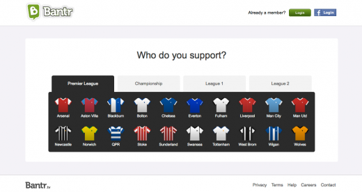 Support1 520x276 Bantr: The social network for football fans