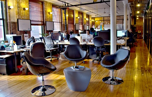 WeWork Labs coworking space