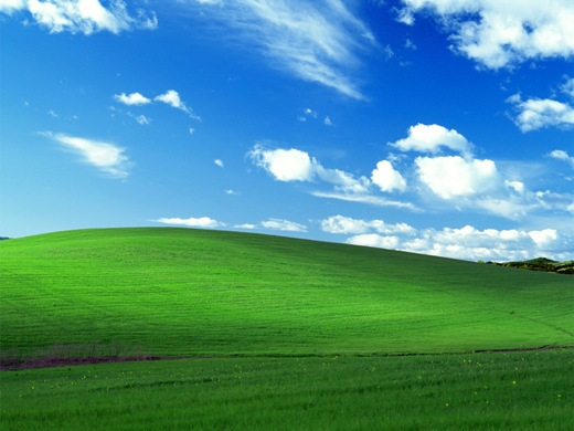 bliss Ever wonder where the Windows XP default wallpaper came from?