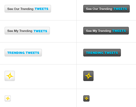buttons Meet Twylah, Brand Pages for Twitter.