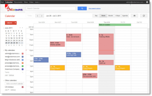 Google Apps Gets Google S Updated Gmail Calendar And Google Docs
