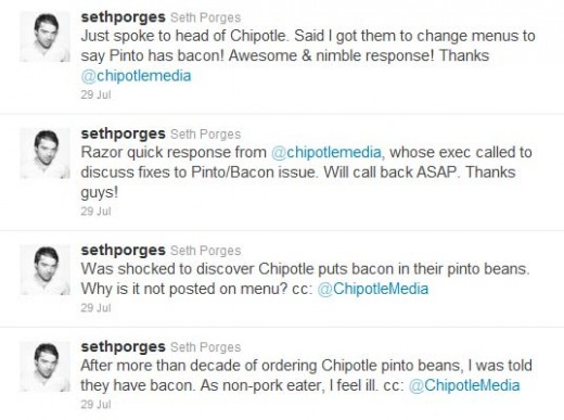 chipotlechange 1 520x387 Bacongate: This mans tweets prompt Chipotle to reveal a secret ingredient in its pinto beans