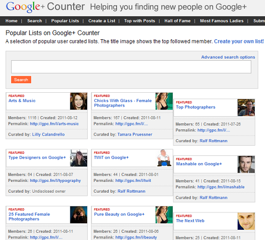 gpc 10 ways to find relevant Google+ users to circle