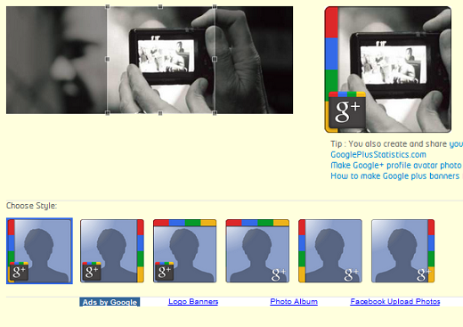 gplus How to spice up your Google+ profile with photos