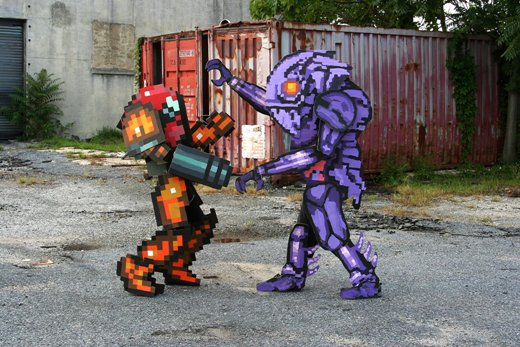 metroid2 Probably the most realistic gaming costumes youve ever seen