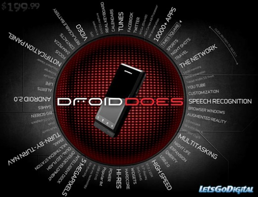motorola droid verizon 520x397 As Apples smartphone sales boom, should its rivals release fewer handsets?