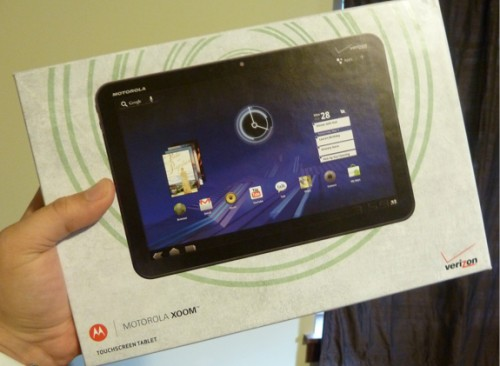 motorola xoom box 500x366 Googles Motorola Mobility acquisition: Will it affect Apple?